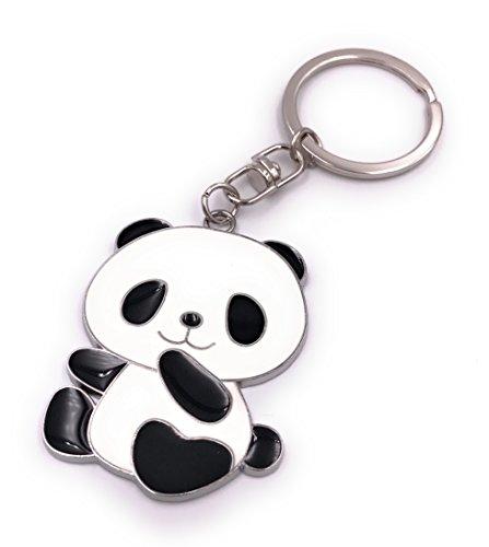 H-Customs Panda Pandabär Bär Schlüsselanhänger Anhänger