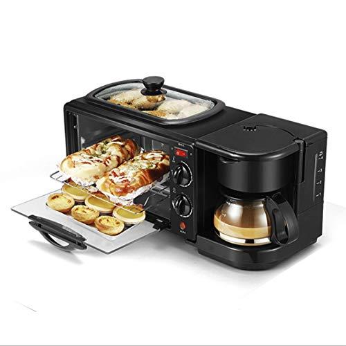 Horno de tostadora Mini horno 9L, doméstico Máquina de desayuno multifuncional para...