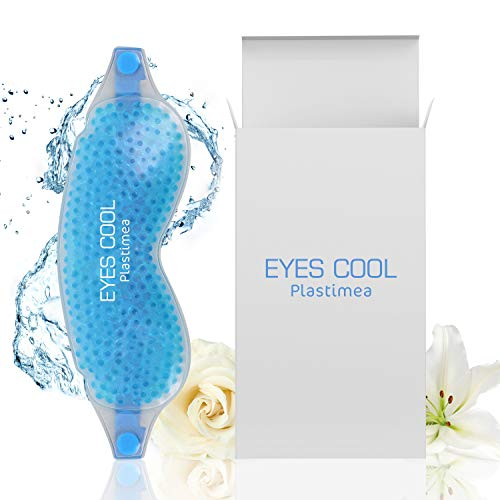 Kühlende Augenmaske EYES COOLⓇ 2in1 Premium Gel-Maske Kälte & Wärmetherapie Wellnessmaske Kühlmaske Gesichtsmaske Kühlbrille gegen Augenringe Tränensäcke & Migräne Anregung Durchblutung & Entspannung