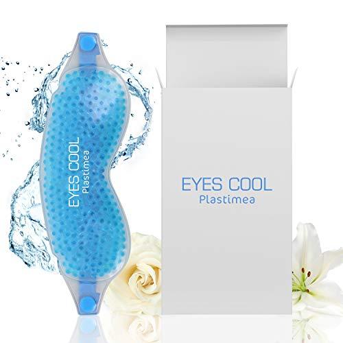 Eyes Cool ✦ Mascara de gel relajante para los ojos - terapia de frío/calor - Combate hinchazón, dolor de cabeza, bolsas, ojeras, y ayuda a dormir. - Reutilizable, para una piel tersa y suave.