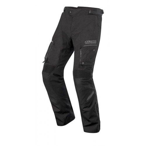 Alpinestars, Valparaiso 2 Drystar, motorbroek, kleur zwart-grijs, maat XL