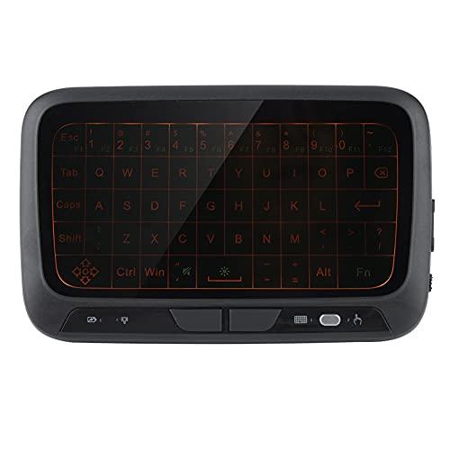 Changor Teclado 2000 / XP/Vista, 3.7 V BL-5B Batería incorporada Teclado inalámbrico de plástico para TV Caja PC (Negro)
