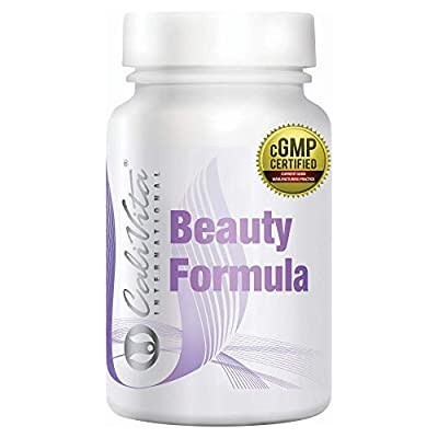 Beauty Formula - Hyaluronic Acid & Collagen Capsules | + Extra Wide Spectrum of Vitamins and Herbs | for Health of Skin, Hair and Nails | 2 Month Supply | Made in USA - by CaliVita International