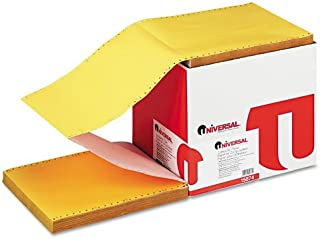 Universal : Multicolor Paper, 4-Part Carbonless, 15lb, 9 1/2 x 11, Perforated, 900 Sheets -:- Sold as 2 Packs of - 900 - / - Total of 1800 Each