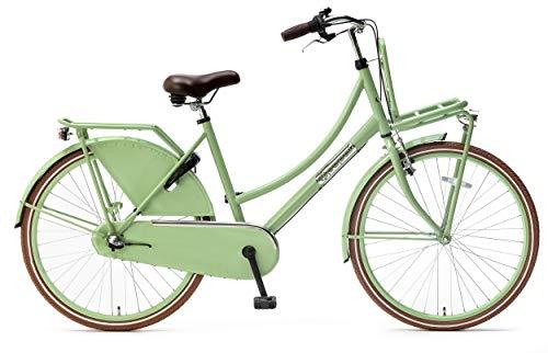 Kinder-Fahrrad Popal Daily Dutch Basic+ 26 Zoll 46 cm Mädchen 3G Rücktrittbremse Grün