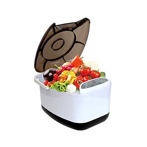 SSZZ Lavadora automática de Verduras - Máquina de desintoxicación de Frutas y Verduras, purificador de Alimentos