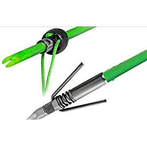 TRUGLO TG140S1G Speed-Shot Bowfishing Arrow Fg Spring Point
