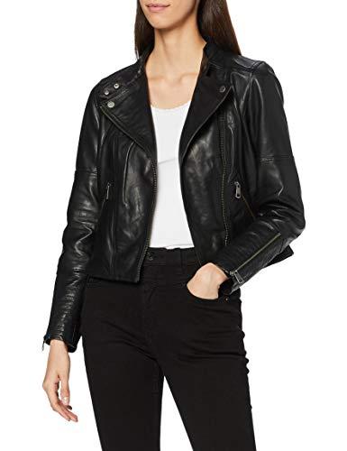 ESPRIT Damen 120EE1G306 Jacke, 001/BLACK, M