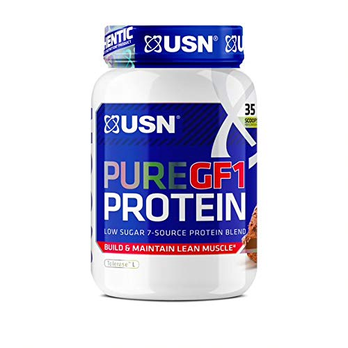 USN Pure Protein GF-1 Protein Shake Chocolate, 1000 g