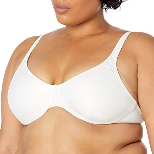 Bali womens Passion For Comfort Minimizer Underwire Bra, WHITE, 40G