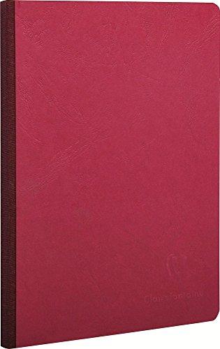 Clairefontaine schrift AgeBag 96 vellen/blanco 14,8 x 21cm rood