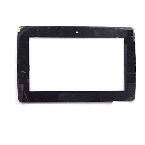 EUTOPING ® Schwarz Farbe 7 Zoll Touchscreen - digitizer Alternative für CLEMENTONI My First CLEMPAD 6.0 Plus 12240 69601