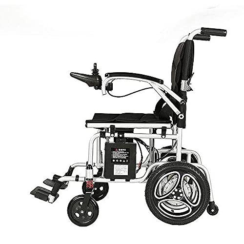 WXDP Autopropulsado Batería de Litio eléctrica Plegable Ligera portátil para Ancianos discapacitados