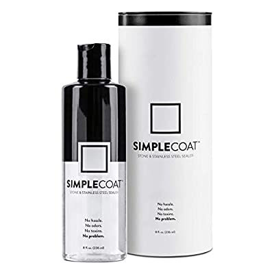SimpleCoat Natural Stone and Stainless Steel Se...