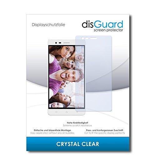 disGuard® Bildschirmschutzfolie [Crystal Clear] kompatibel mit Lenovo K5 Note [2 Stück] Kristallklar, Transparent, Unsichtbar, Extrem Kratzfest, Anti-Fingerabdruck - Panzerglas Folie, Schutzfolie