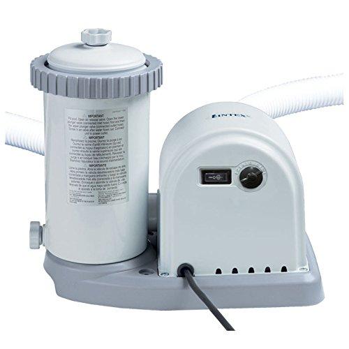 Intex - 56636Fr - Accessoires Piscines - Filtre Épurateur À Cartouche 5,7 M3/H - 220 - 230 Volts