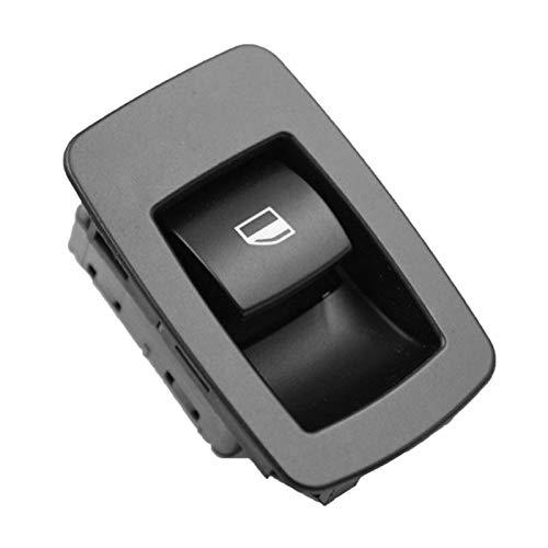 ZHENGYI Nueva Ventana DE Potencia Solo Conjunto para BMW E60 E61 525i 528i 530i 535i 02-09 (Color : Black)