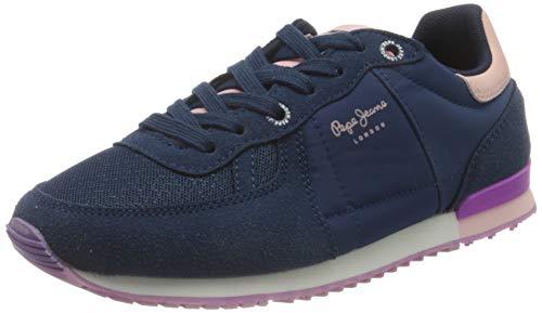 Pepe Jeans Sydney Basic Girl Aw20, Basket Fille, 581dark Blue, 32 EU