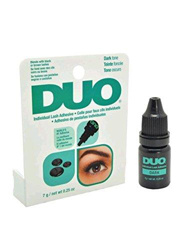 DUO Individual Lash Adhesive Eyelash Glue 7g Dries Invisibly Dark tone