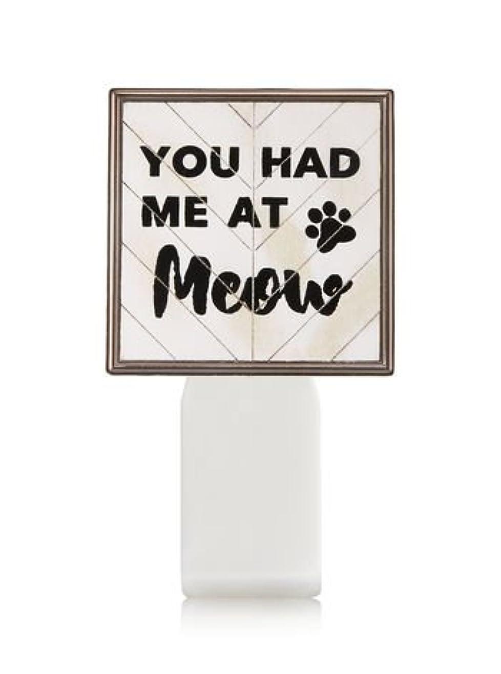 パット重大ジョージハンブリー【Bath&Body Works/バス&ボディワークス】 ルームフレグランス プラグインスターター (本体のみ) キャット シールド Wallflowers Fragrance Plug You Had Me At Meow [並行輸入品]