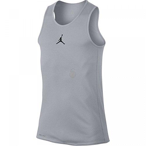 Nike Rise Dri-Fit Tank – Basketball-T-Shirt für Herren XS grau/schwarz (Wolf Grey/Black)