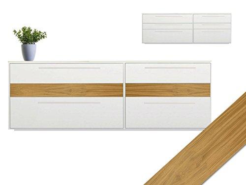 Eiche Furnier mit Schmelzkleber zum Aufbügeln, Tisch, Möbel, Sideboard