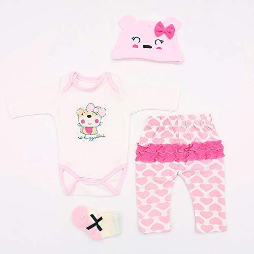 Terabithia 10 Adapta a 45-50 cm muñecas recién Nacidas Vestido Reborn Baby Doll Toda la Ropa de algodón