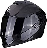 Scorpion 14-261-100-05 Casco Moto Exo-1400 Air Carbon Solid L