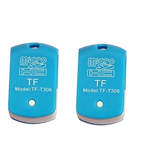 TF-T306 USB Single Card Reader (Pack of 2 Pcs) for TF, M2,...