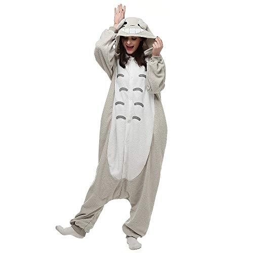 Animal Adultos Pijamas Dibujos Animados Onesies Cosplay Disfraces Unisex Ropa de Dormir Kigurumi L Totoro