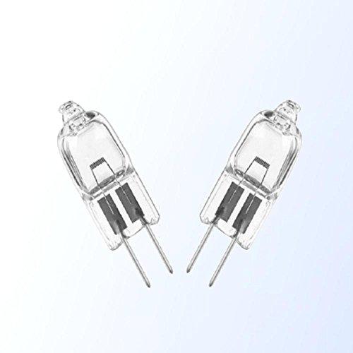 Osram 64250 HLX - Lámpara halógena de bajo voltaje (2 unidades, 6 V, 20 W, G4, sin reflector, duración media de 100 horas, eficiencia energética: B)