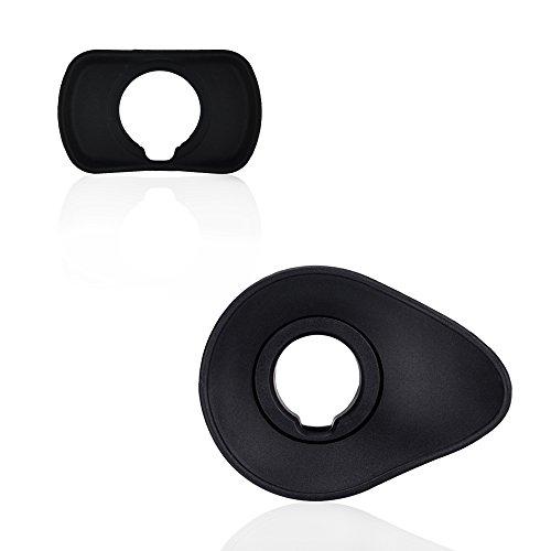 JJC Sucher Augenmuschel für Fujifilm X-T3 X-T1X-T2 X-H1 GFX-50S GFX 100 ersetzt Fuji EC-XT L Okular(2 Stück)