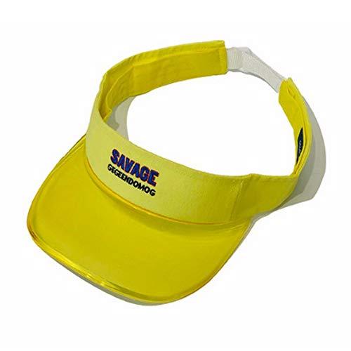 Clape Sommer Sonnenhut UV-Schutz, Visor Cap Sonnenblende Hut mit Klettverschluss für Männer und Damen