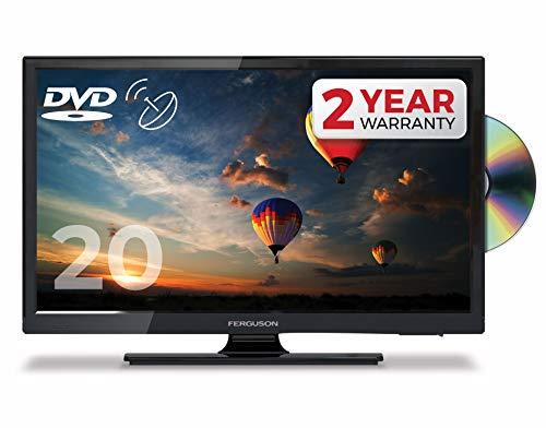 "FERGUSON 20"" LED TV DVD Freeview HD & Satellite Tuner, USB, HDMI - BRITISH MANUFACTURER - F20230FT2S2"
