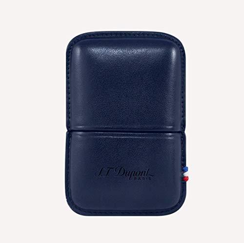 S.T. Dupont エス・テー・デュポン ライン2 ライターケース ブルー 183073 183073 縦80 × 横55 × 奥行17mm