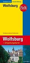 Falk Stadtplan Extra Standardfaltung Wolfsburg