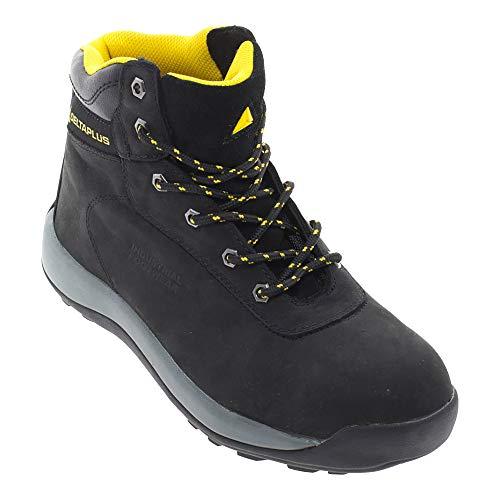 Delta PLus - Chaussures Montantes de sécurité Style randonnée - Homme (EUR 43) (Noir)