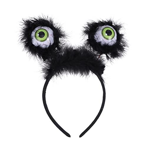 IMIKEYA 3 Piezas de Diadema de Disfraces de Halloween Diadema Luminosa para El Ojo Diadema de Luz LED Tocado Brillante de Horror para El Disfraz de Cosplay