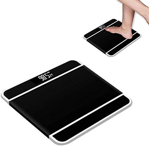 JIERTYU Waage Gewicht, Digitalwaagen, Hochpräzise Körperwaage, Elektrische Haushalts-LCD-Digital-Gewichtsmessung Für Erwachsene Zum Wiegen Von Lebensmitteln In Der Küche