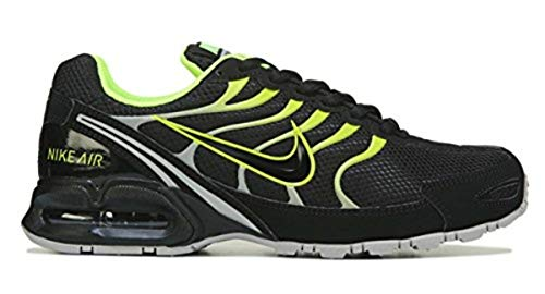 NIKE Air Max Torch 4 Men's Running Shoe Black/Volt-Atmosphere Grey Size 8.5 US