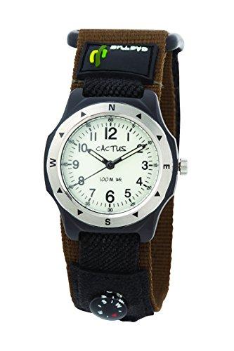 [カクタス] キッズ腕時計 蓄光ダイヤル CAC-65-M12 正規輸入品 グリーン