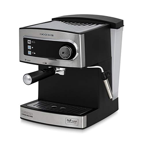 IKOHS CÖHF ESPRESSO - Cafetera Express para Espresso y Capuccino, depósito 1,6...
