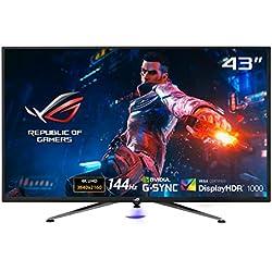 ASUS ROG Swift PG43UQ DSC Gaming Monitor, 43´´ 4K UHD, 3840 x 2160, 144 Hz, G-Sync, DSC, DisplayHDR 1000, DCI-P3 90%, Shadow Boost