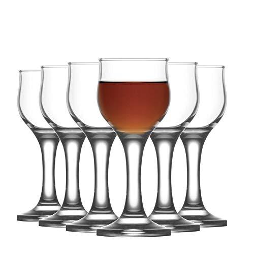 LAV Nevakar Stemmed Liqueur/Schnapps Glasses - 55ml - Pack of 12