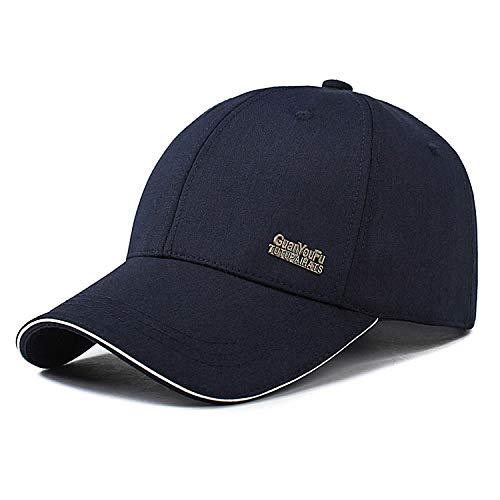 OCTERING Baseball Cap Unisex Kappe für Herren und Damen Outdoor Mütze Reine Farbe