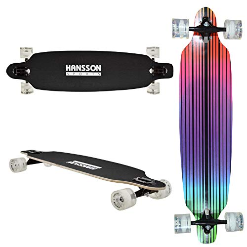 Hansson.Sports Top Longboard Komplett Skateboard Long Board 39