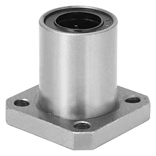 Rollo de movimiento lineal de brida recta, movimiento de movimiento de la brida 19 mm / 0.7in sistema de movimiento con acero al rodamiento