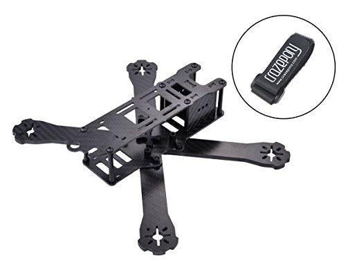QAV 250 FPV Racing Drone Frame,X Full Carbon Fiber Quadcopter Frame Kit for 2205 2206 2306 2307 Brushless motor by Crazepony