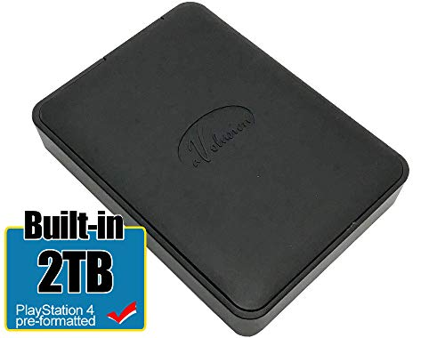 Avolusion 2TB USB 3.0 PS4 External Hard Drive (PS4 Pre-Formatted) for PS4, PS4 Slim, PS4 Pro (HD250U3-X1-2TB-PS4) - 2 Year Warranty
