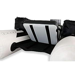 Bequemer aufblasbarer Sitz für dein Belly Boot vorhanden
